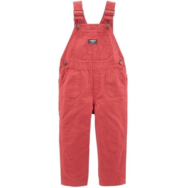 cbaac8b524f369 Shop OshKosh B'gosh Little Boys' Canvas Overalls, 4-Toddler - 4T - Free  Shipping On Orders Over $45 - Overstock - 26037477