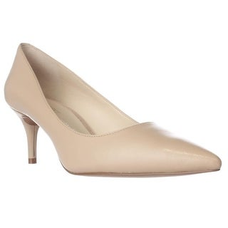 Nine West Margot Pointed-Toe Classic Pumps, Natural