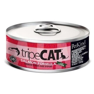 Petkind Pet Products Tripe CAT Grain-Free Salmon Canned Cat Food
