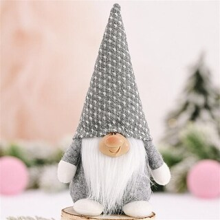Link to Christmas decoration forest elderly smiling face doll without face - 5.91x4.72x1.18 inch Similar Items in Accent Pieces