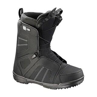 Salomon Titan Snowboard Boots 2017 - - black/autobahn/black