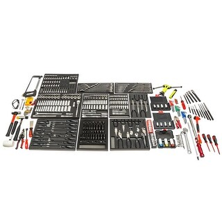 Powerbuilt 453pc Professional Mechanic Technician Tool Set Automotive - 642540
