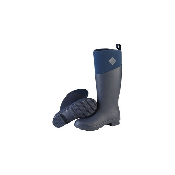 Muck Boot's Women's Tremont Tall Navy Boots w/ Warm Fleece Lining - Size 9
