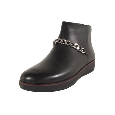 Fitflop Womens 'Pia Chain Leather' Boots