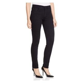 NYDJ Womens Petites Ami Skinny Jeans Mid-Rise Jegging