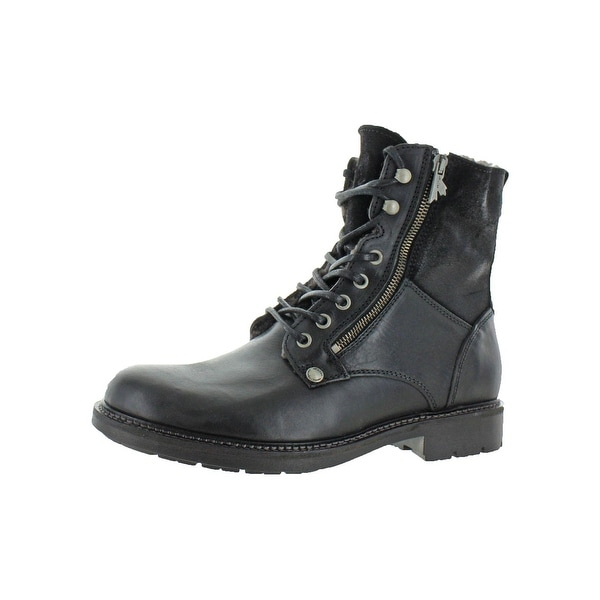 2c6d1ab8943 Shop Pajar Mens Morello Combat Boots Lace Up Ankle - Free Shipping ...