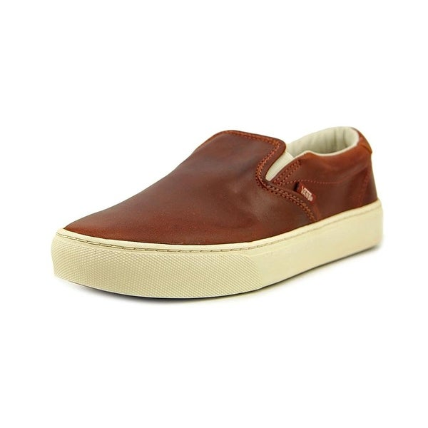 07ac229b4a Shop Vans Slip-On Cup Ca Ankle-High Leather Fashion Sneaker - Free ...