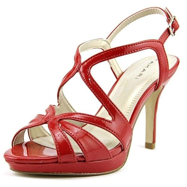 Tahari Womens BALTHASAR Peep Toe Formal Strappy Sandals