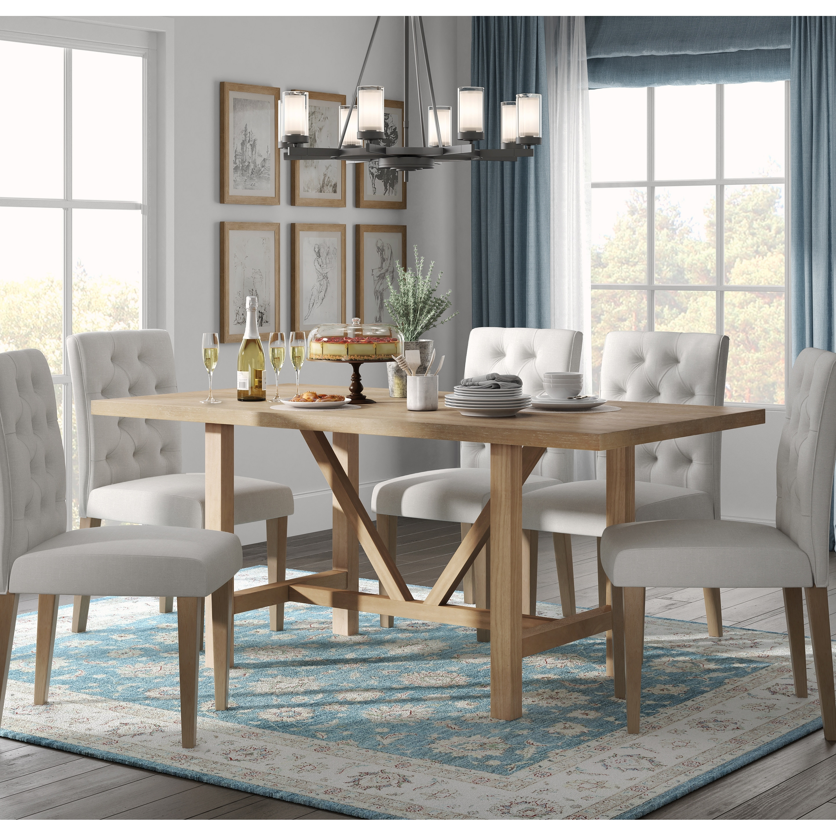 Finch Grant Dining Table beige