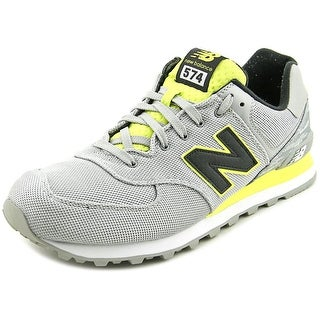 New Balance ML574 Men  Round Toe Leather Blue Sneakers