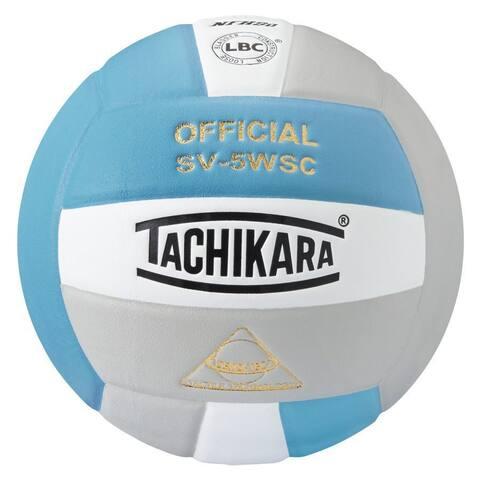 Tachikara SV5WSC Sensi-Tec Composite Volleyball (Blue/White/Silver)