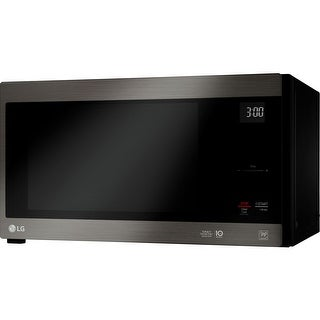 LG LMC1575BD 1.5 CF NeoChef Countertop Microwave Black Stainless Steel - black stainess steel
