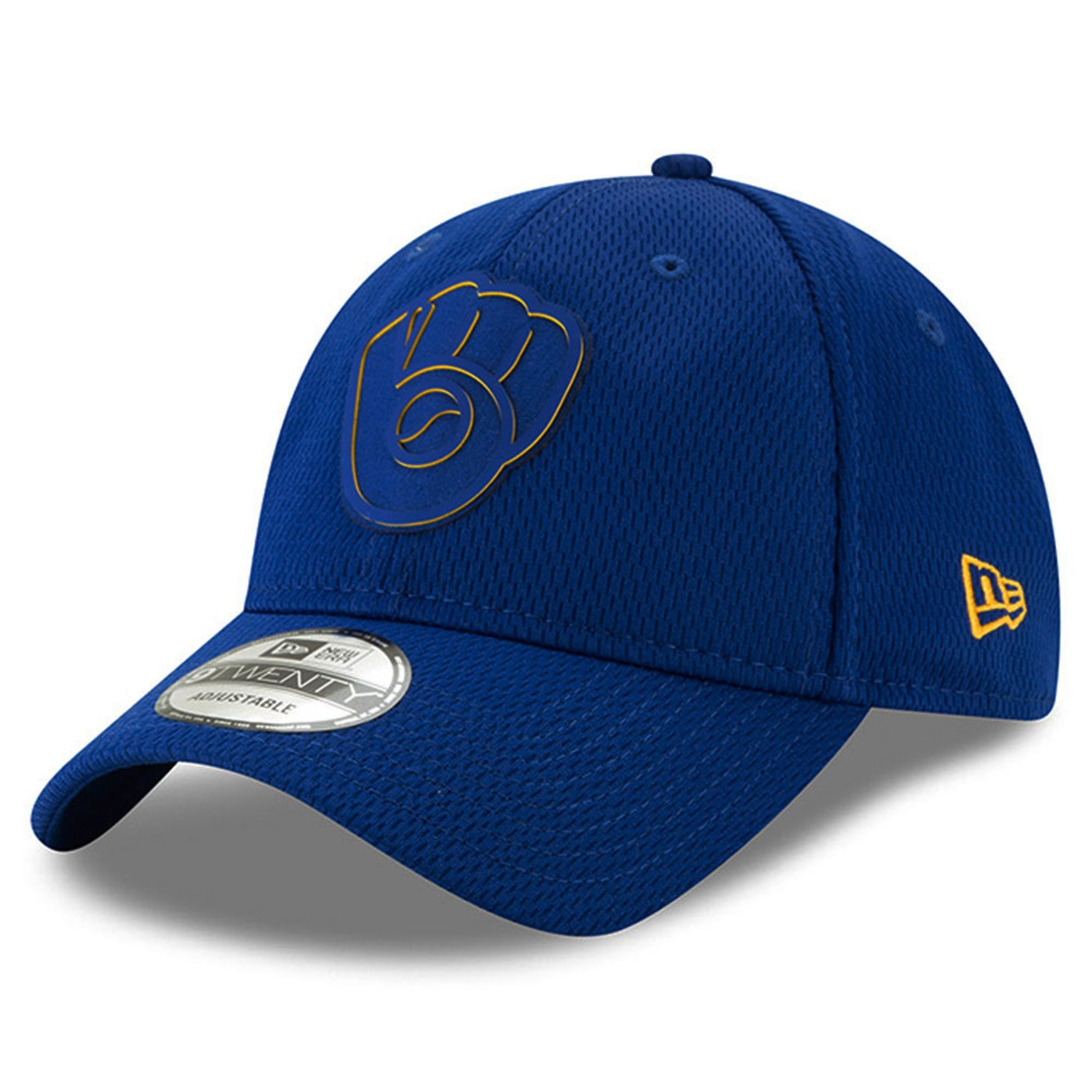 new style 23a0f 5bcfc Shop Milwaukee Brewers 2019 Clubhouse Collection 9TWENTY Adjustable Hat -  Free Shipping On Orders Over  45 - Overstock.com - 26867498