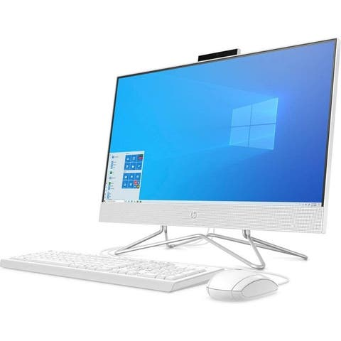 """HP 24-df0042ds 23.8"""" FHD All-in-One Computer, AMD, 8GB, 256GB"""