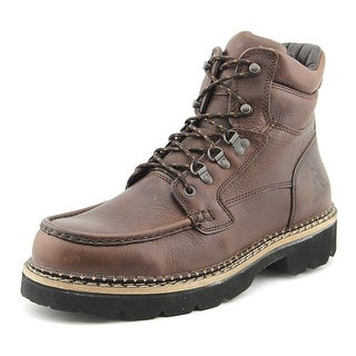 Rocky Western Cruiser Men  Steel Toe Leather  Work Boot