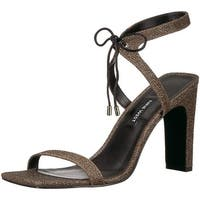 Nine West Womens longitano Open Toe Casual Ankle Strap Sandals