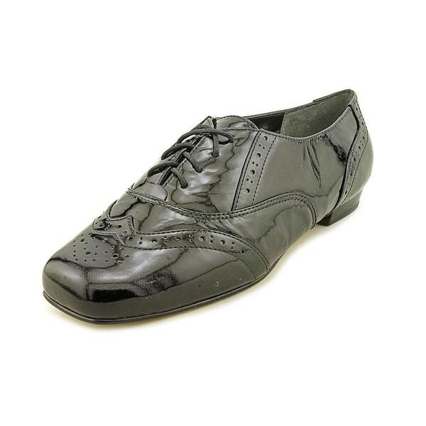 Mark Lemp By Walking Cradles Jake Women W Patent Leather Black Oxford