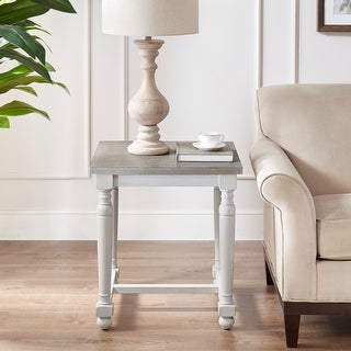 Link to Martha Stewart Winfield Natural/ Cream End Table Similar Items in Living Room Furniture
