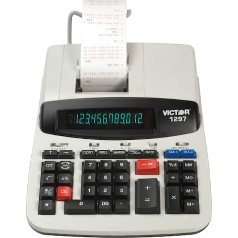 Victor Two-Color Commercial Printing Calculator Commercial Printing Calculator