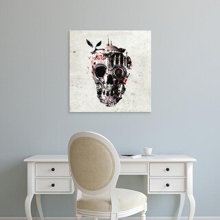 Easy Art Prints Ali Gulec's 'Istanbull Skull 6000' Premium Canvas Art