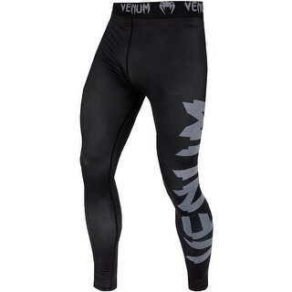 Venum Giant Dry Tech Fit Cut Compression Spats - Black/Gray (5 options available)