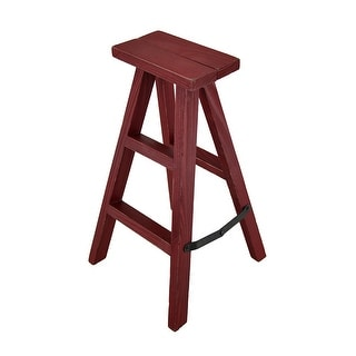 Rustic Folding Decorative Wooden Step Ladder Display Stand