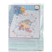 "Twinkle Twinkle Quilt Stamped Cross Stitch Kit-34""X43"""
