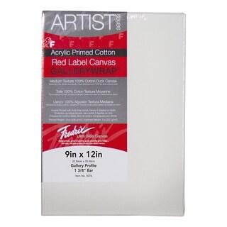 Fredrix Gallerywrap Stretched Canvas, 9 x 12 in