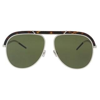 Christian Dior DIORDESERTIC 09G0 Havana Palladium Aviator Sunglasses - 58-14-145