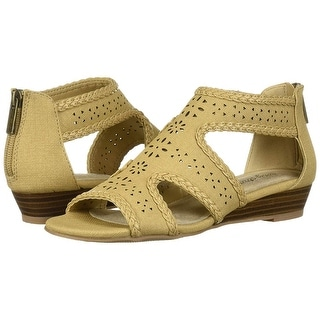 Link to Easy Street Womens 30-1726 Leather Open Toe Casual Ankle Strap Sandals Similar Items in Women's Shoes