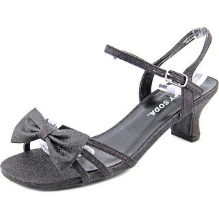 Happy Soda Girly-11 Open Toe Canvas Sandals