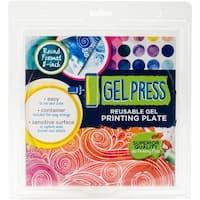 """PolyGel Gel Plate 8"""" Circle-"""