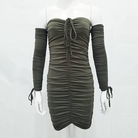 Tube Top Sexy Dress