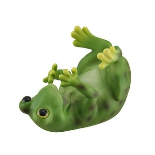Cute Drinking Green Frog Wine Bottle Holder