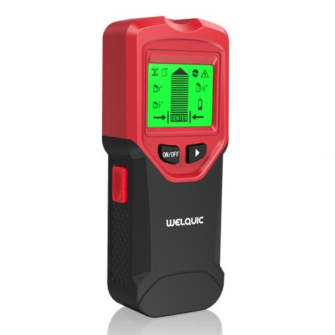 Welquic 3 in 1 Stud Center Finder ,Metal and AC live wire detector