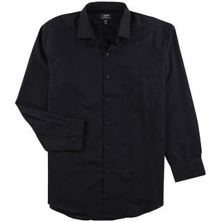 Alfani Mens Regular Fit Performance Button Up Dress Shirt