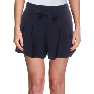 Link to Aqua Womens Casual Shorts Linen Tie Waist Similar Items in Women's Shorts