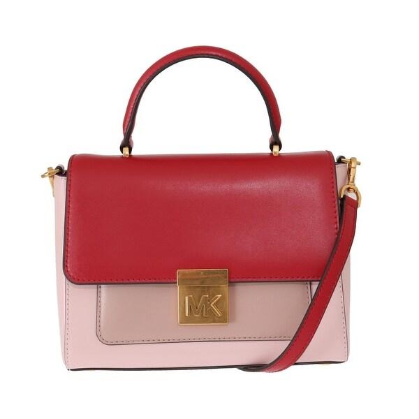 Michael Kors Handbags Red Pink MINDY Satchel Crossbody Bag - One Size de1e5aa67a055