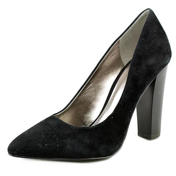 BCBGeneration Clarice-X Women Pointed Toe Suede Black Heels