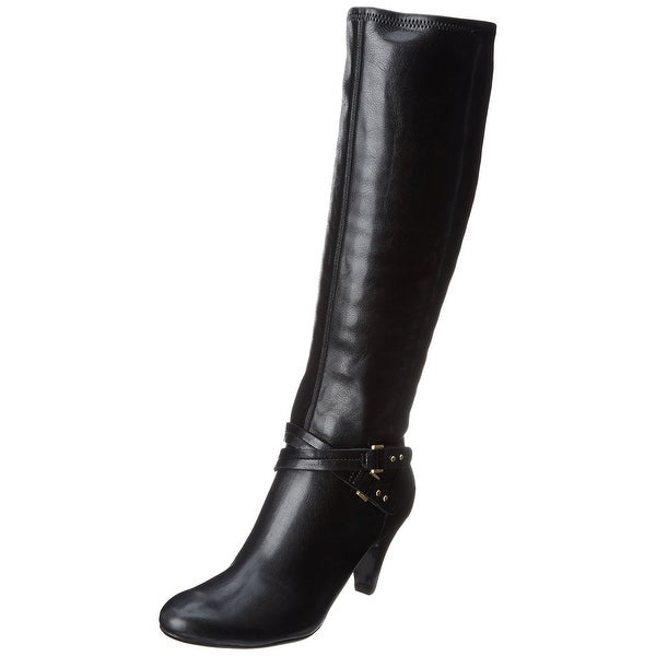 Naturalizer NEW Black Bryon Shoes Size 7.5M Knee-High Boots