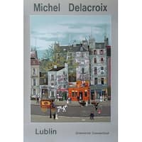 ''Lublin Graphics Expo'' by Michel Delacroix Cityscapes Art Print (33 x 22 in.)