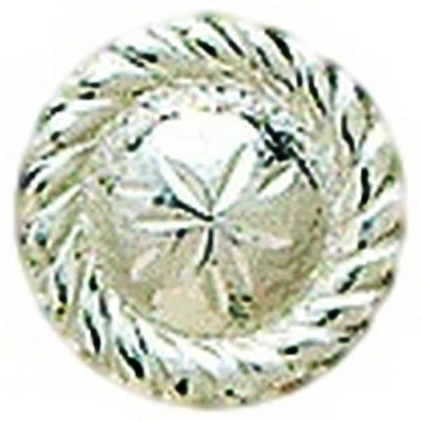 """M&F Western Concho Womens Engraved Round Roped Edge 3/4"""" Silver"""