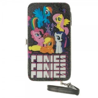 My Little Pony Universal Phone Holding Hinge Wallet - Black