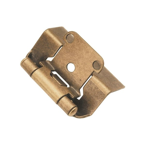 Hickory Hardware P5710F Full Wrap Self Closing Hinges (Package of 2) - n/a