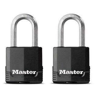 Master Lock M115XTLF Laminated Covered Padlock With Long Shackle