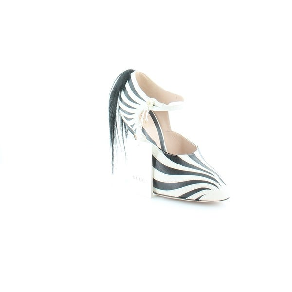 Gucci Lesley Women's Heels White / Nero - 7.5