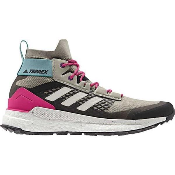 fdfbbbcda3d adidas Men's Terrex Free Hiker Boot Sesame/Raw White/Real Magenta