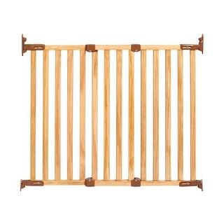 """Kidco Angle Mount Wood Safeway Wall Mounted Pet Gate Oak 28.5"""" - 43"""" x 31"""""""