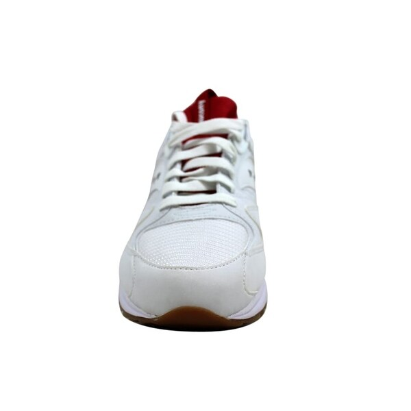 Saucony GRID 8500 White & Red Shoes