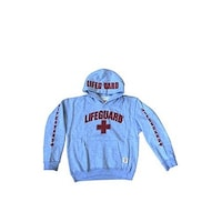 fd2b49722c64d Shop Official Lifeguard Cropped Hoodie Long Sleeve Pullover For ...